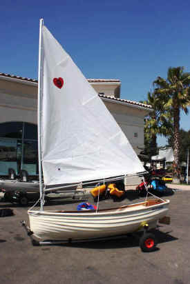 Fatty Knee Sailboat on Seitech Dolly