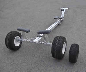 Trailex Universal Beacjh Launching Dolly with Large Tires and Super Size Wheel